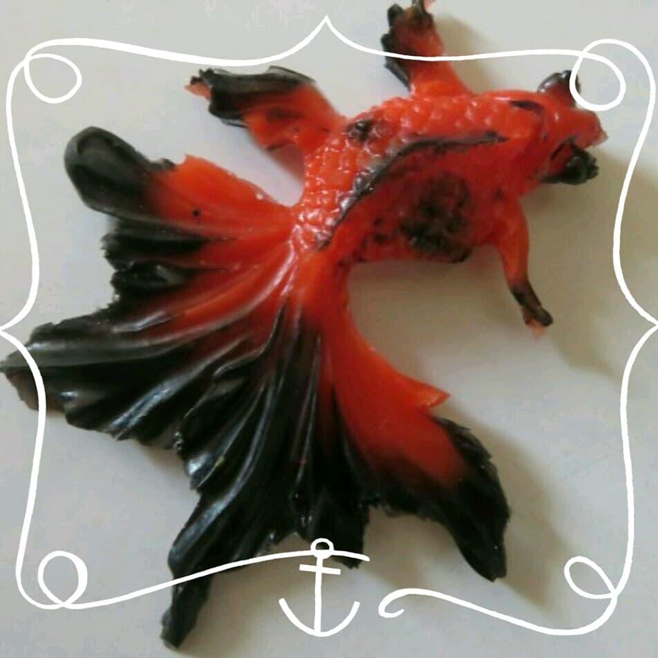 ماهی قرمز رزینی